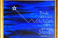 Binde_Deinen_Wagen_gerahmt_Kalligrafie_Haug_HQ