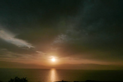 Sonnenaufgang überm Toten Meer