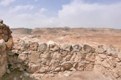 Blick von Massada in die judäische Wüste